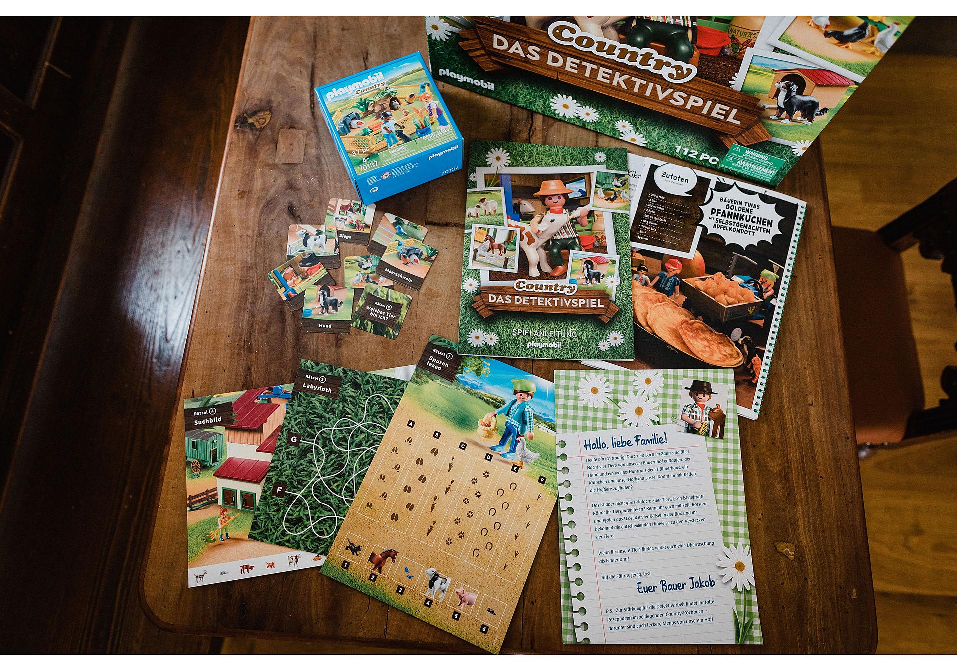 70763 PLAYMOBIL®Box: COUNTRY Das Detektivspiel Das Familienevent zoom image4