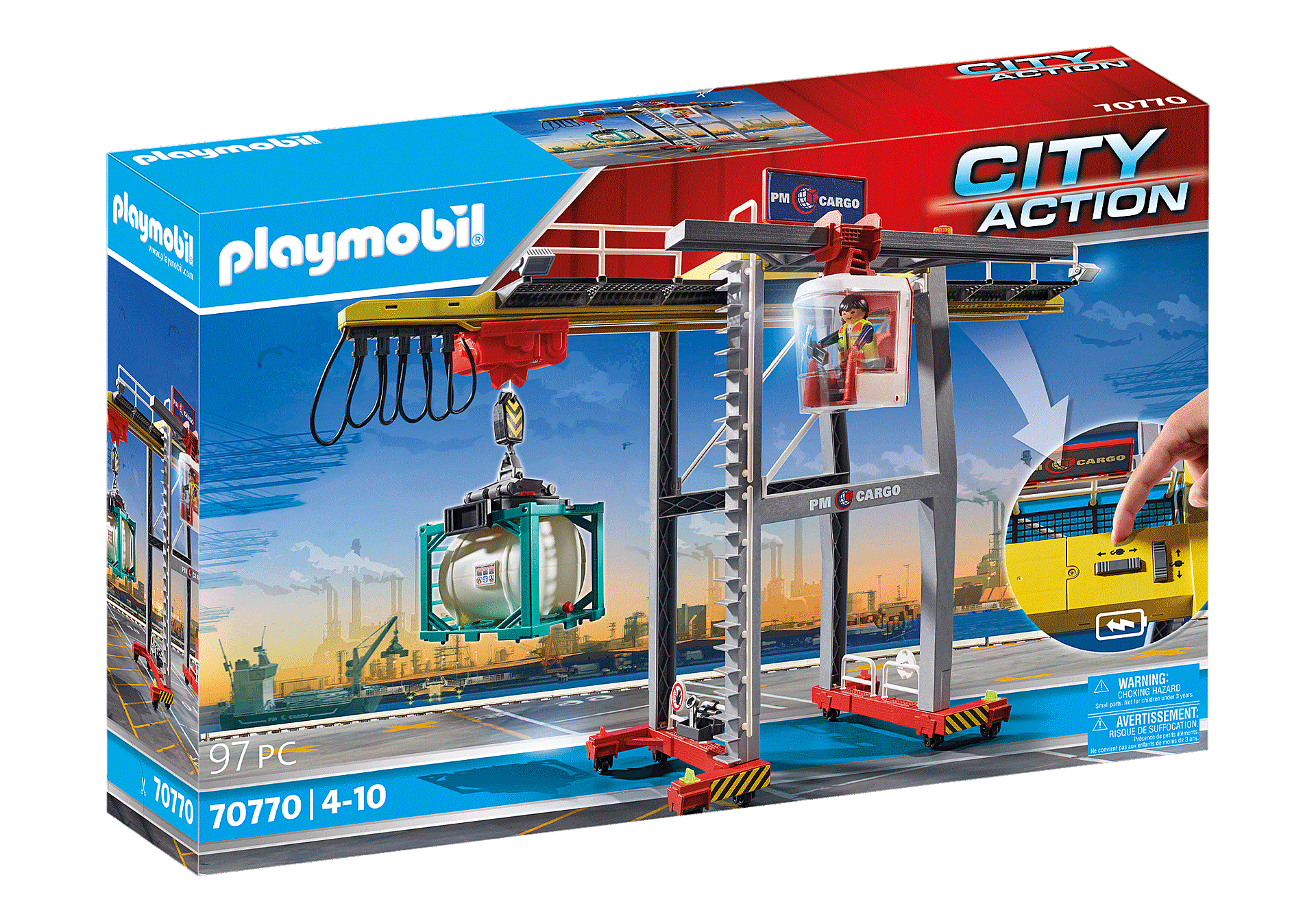 70770 Cargo Crane with Container zoom image2