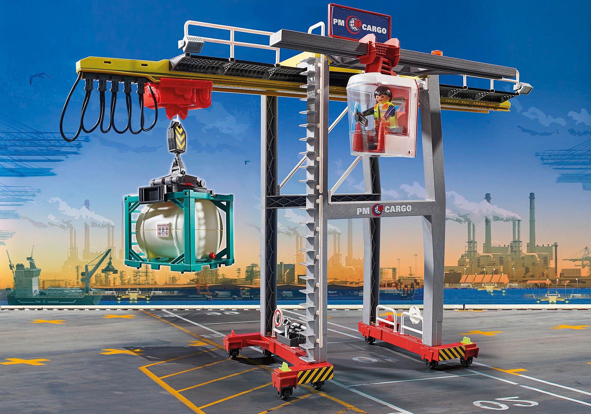 70770 Cargo Crane with Container zoom image1