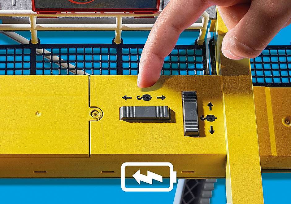 70770 Cargo Crane with Container detail image 5