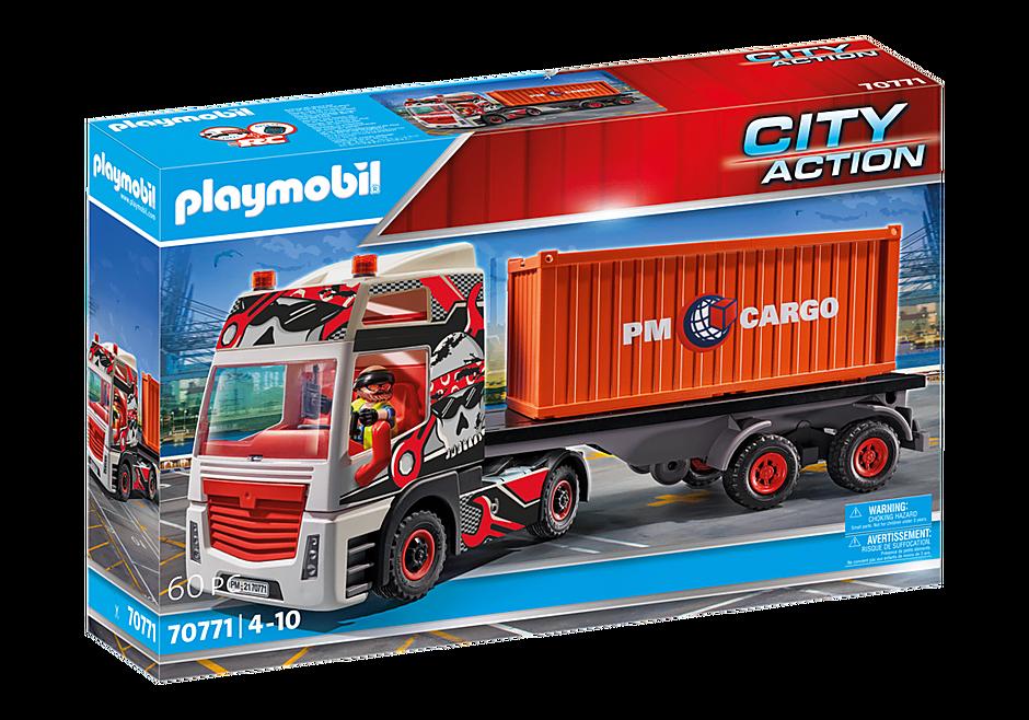70771 Lastbil med godscontainer detail image 2