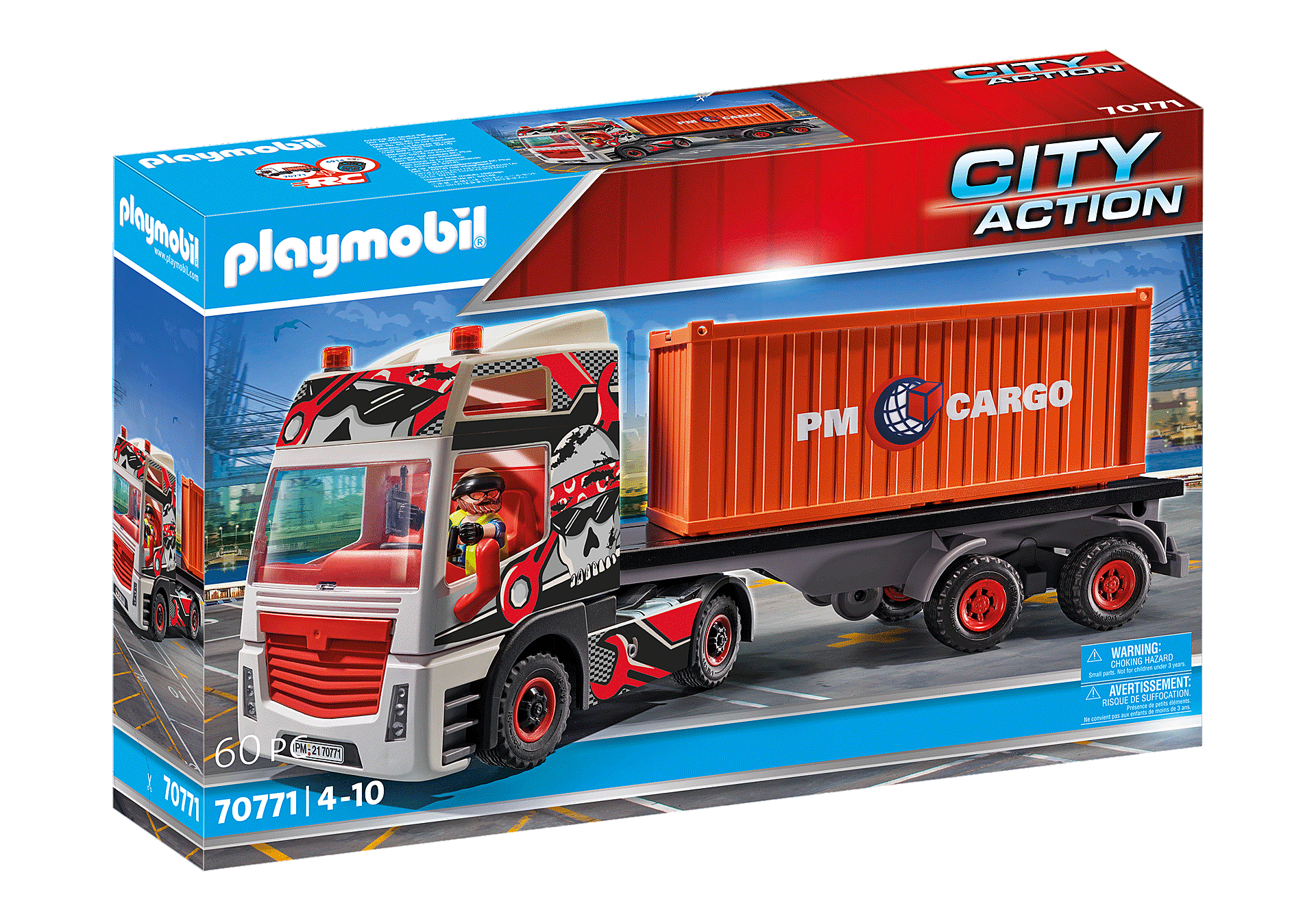 70771 Truck with Cargo Container zoom image2