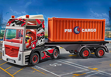 70771 Truck with Cargo Container