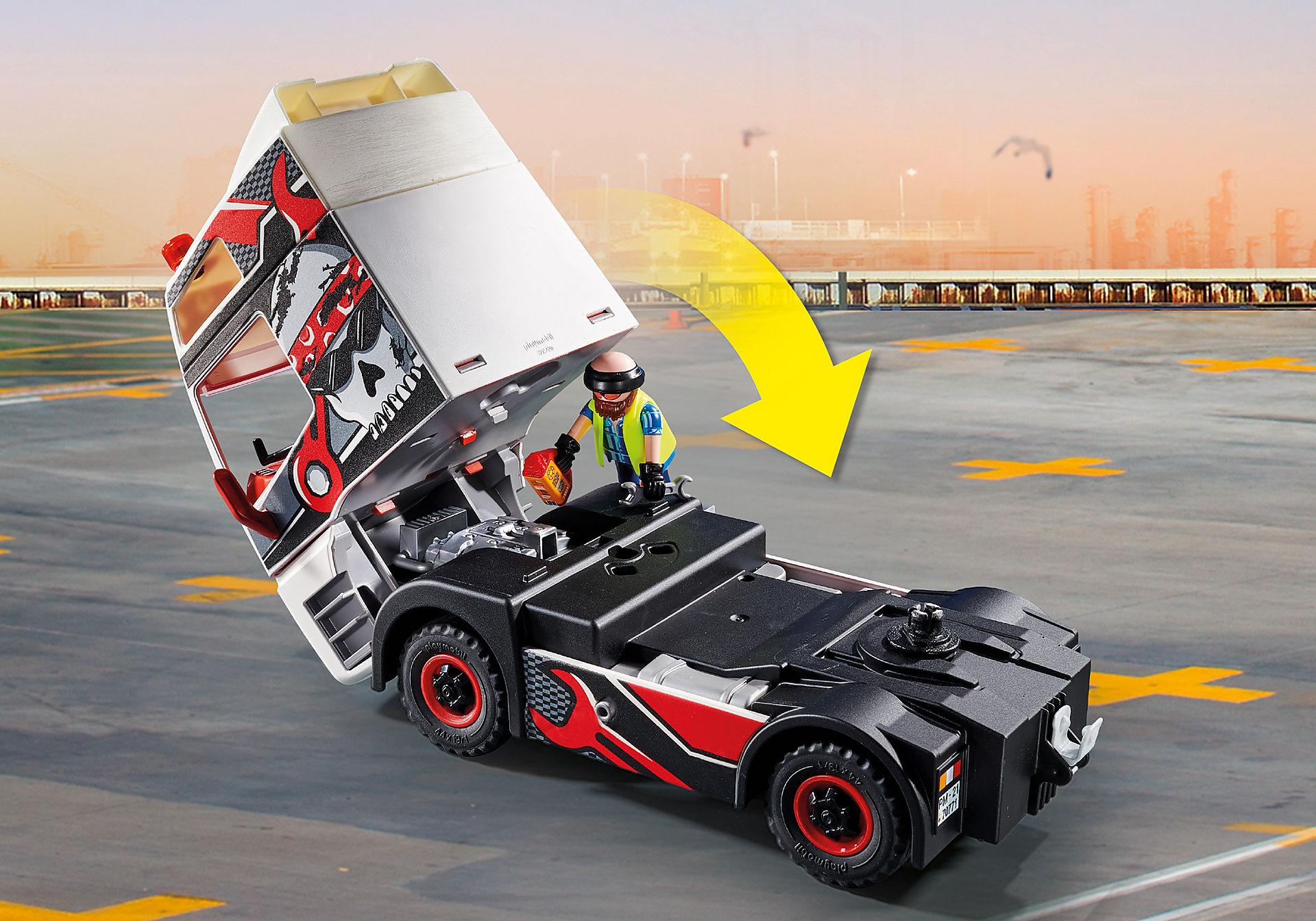 70771 Lastbil med lastcontainer zoom image4