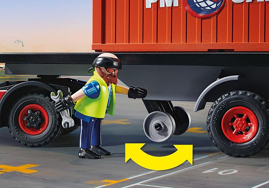 70771 Lastbil med godscontainer detail image 5