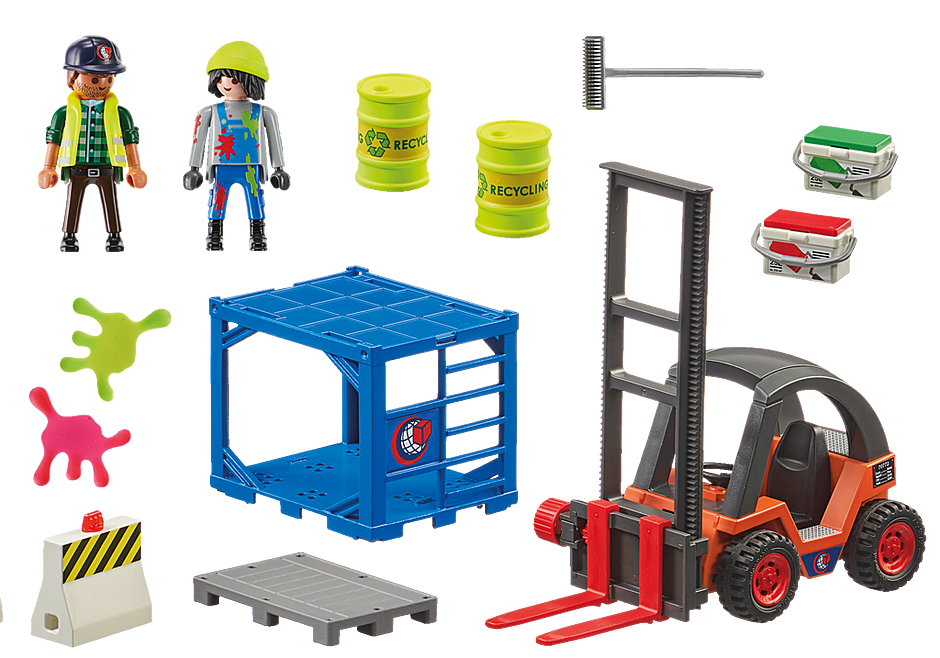 70772 Forklift with Freight detail image 3