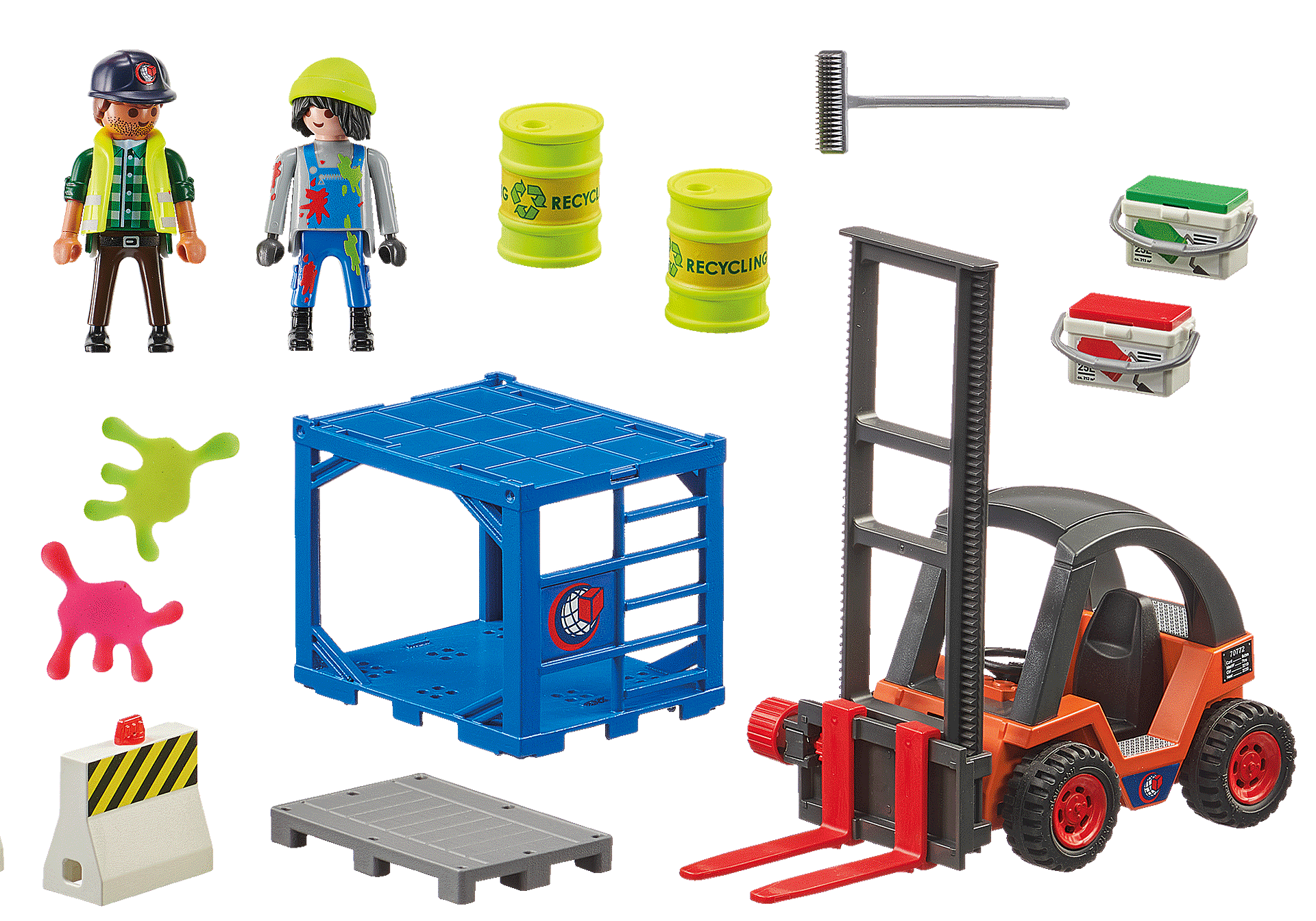 70772 Forklift with Freight zoom image3