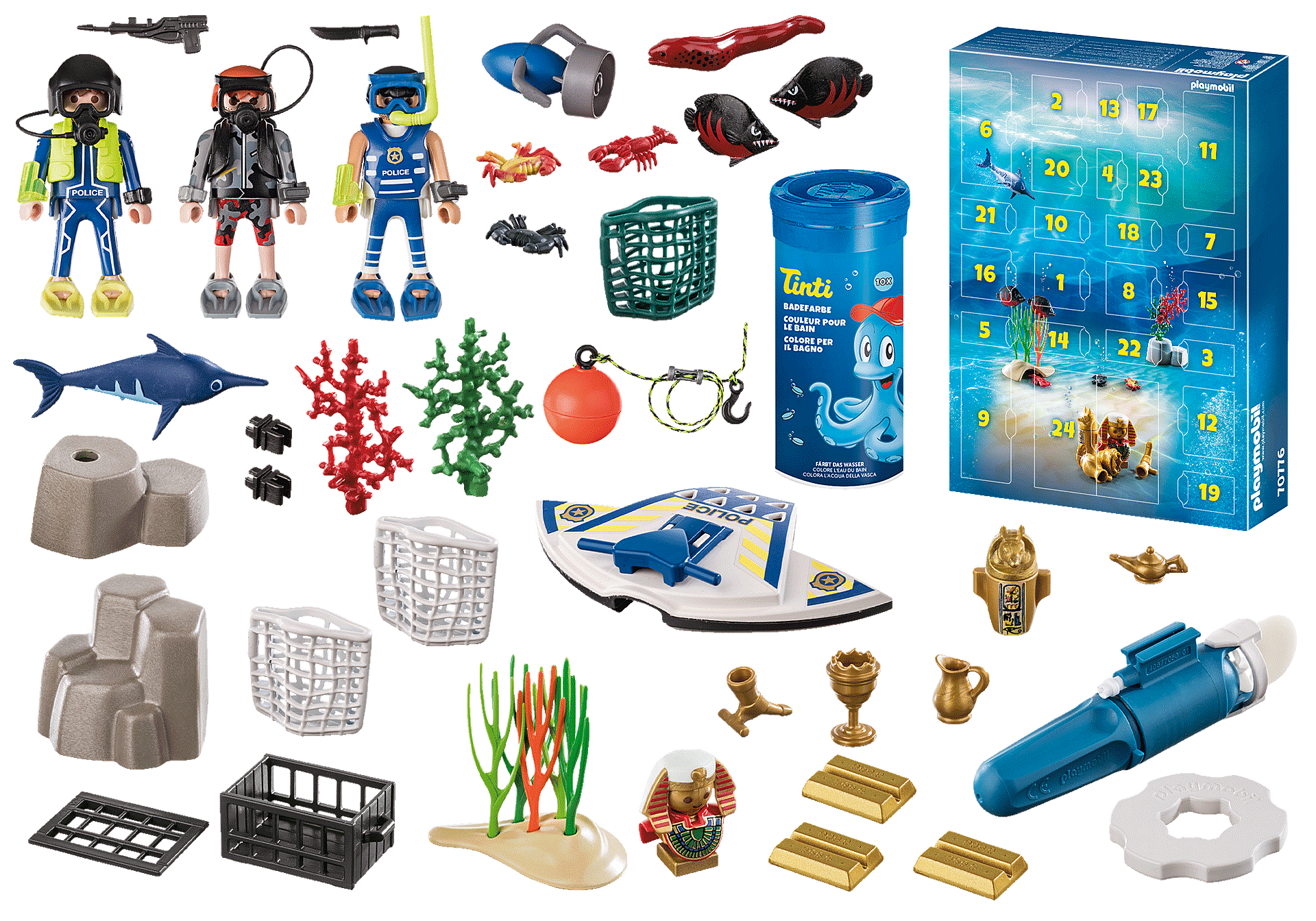 70776 Advent Calendar - Bathing Fun Police Diving Mission zoom image4