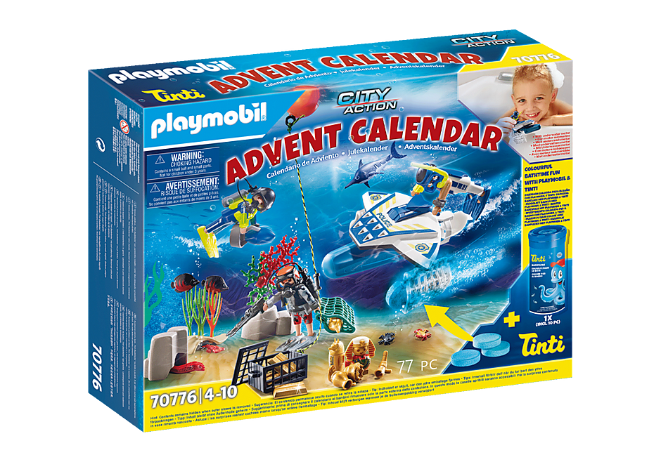 70776 Advent Calendar - Bathing Fun Police Diving Mission detail image 1