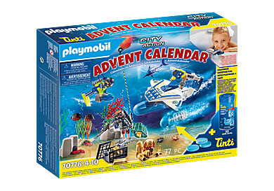 70776 Advent Calendar - Bathing Fun Police Diving Mission