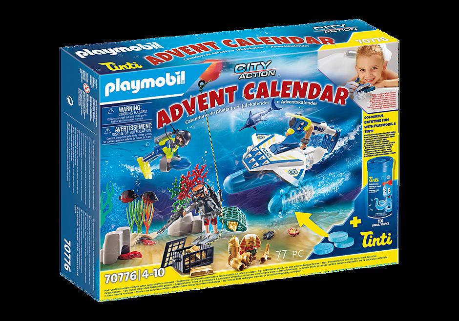 70776 Joulukalenteri Poliisin hauska sukellustehtävä detail image 1