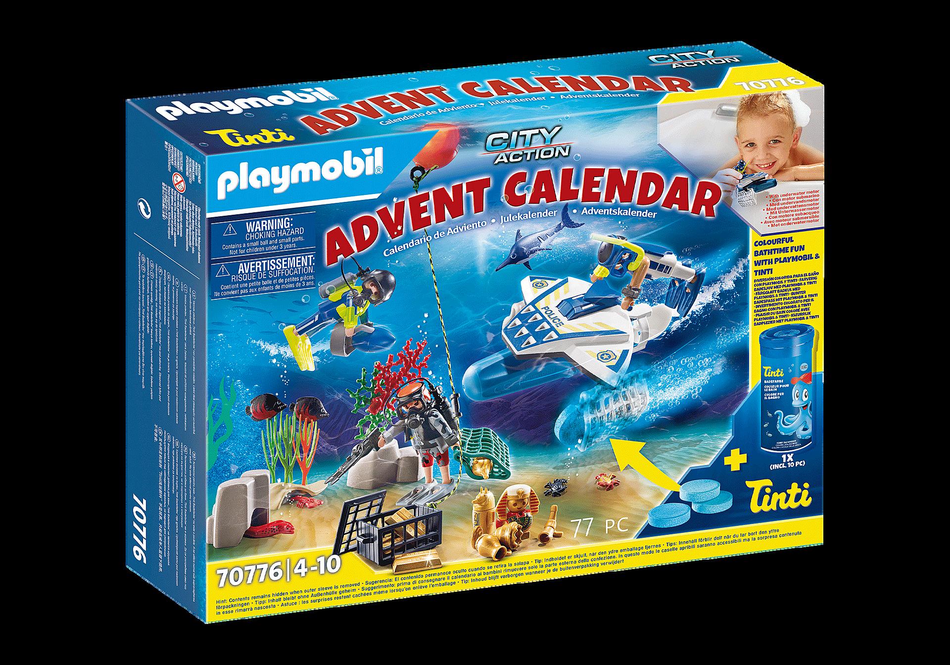 70776 Joulukalenteri Poliisin hauska sukellustehtävä zoom image1