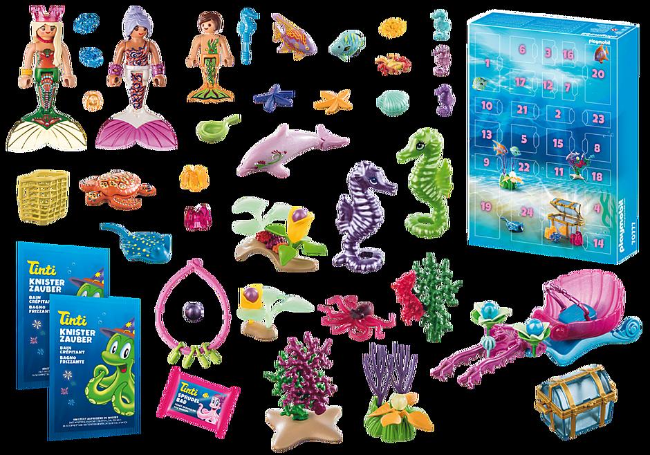 70777 Advent Calendar - Bathing Fun Magical Mermaids detail image 4