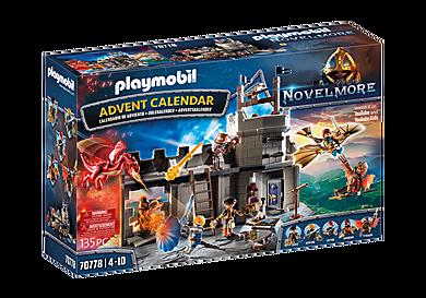 70778 Χριστουγεννιάτικο Ημερολόγιο Novelmore - Εργαστήρι του Dario Da Vanci.
