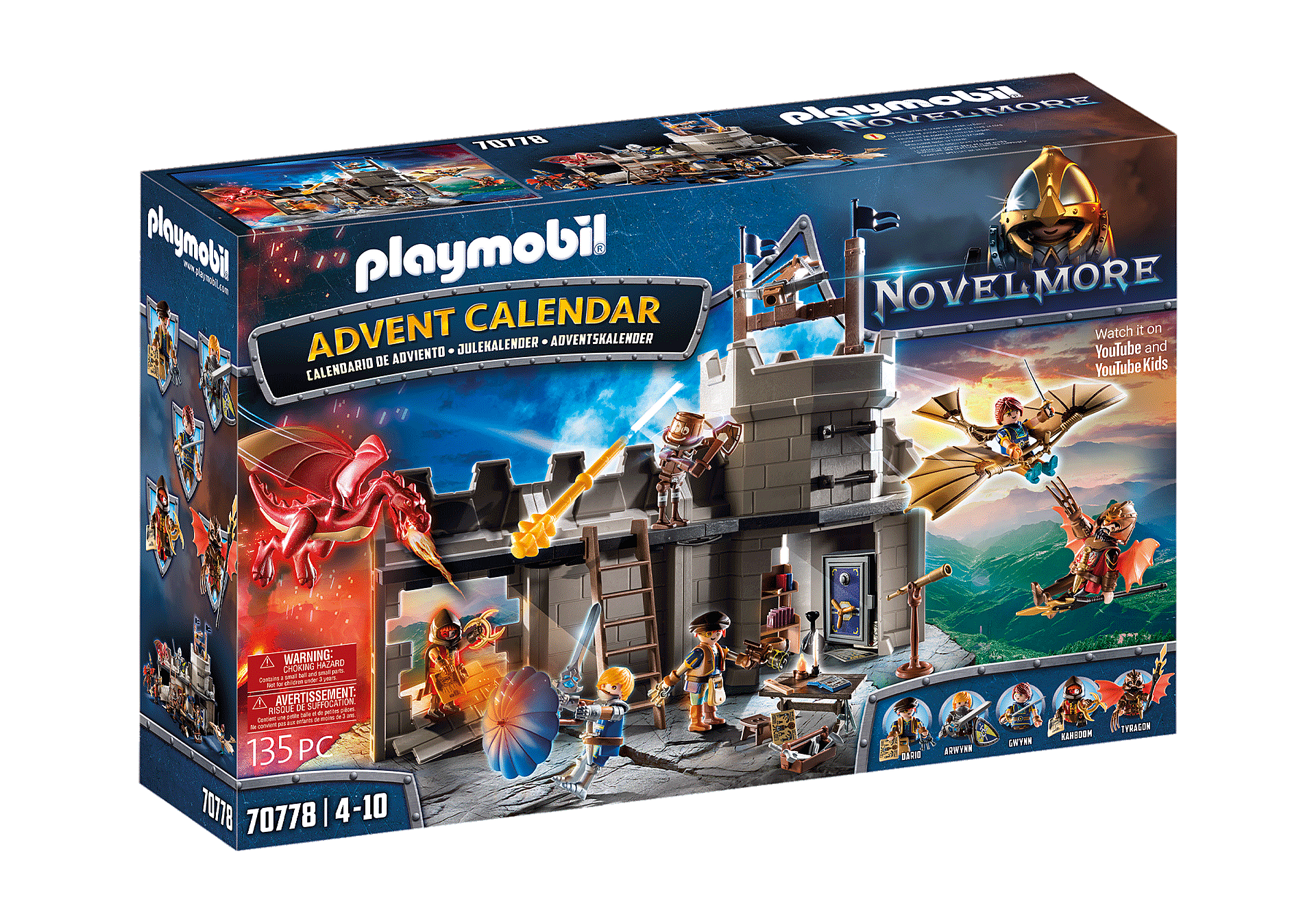 70778 Advent Calendar Novelmore - Dario's Workshop zoom image1