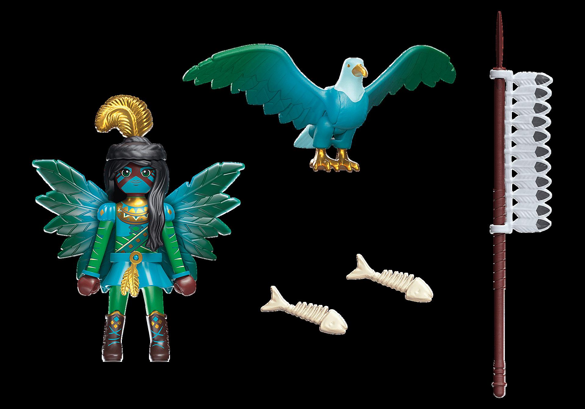 70802 Knight Fairy con animal del alma zoom image4