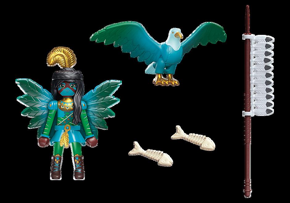70802 Knight Fairy med totemdjur detail image 3