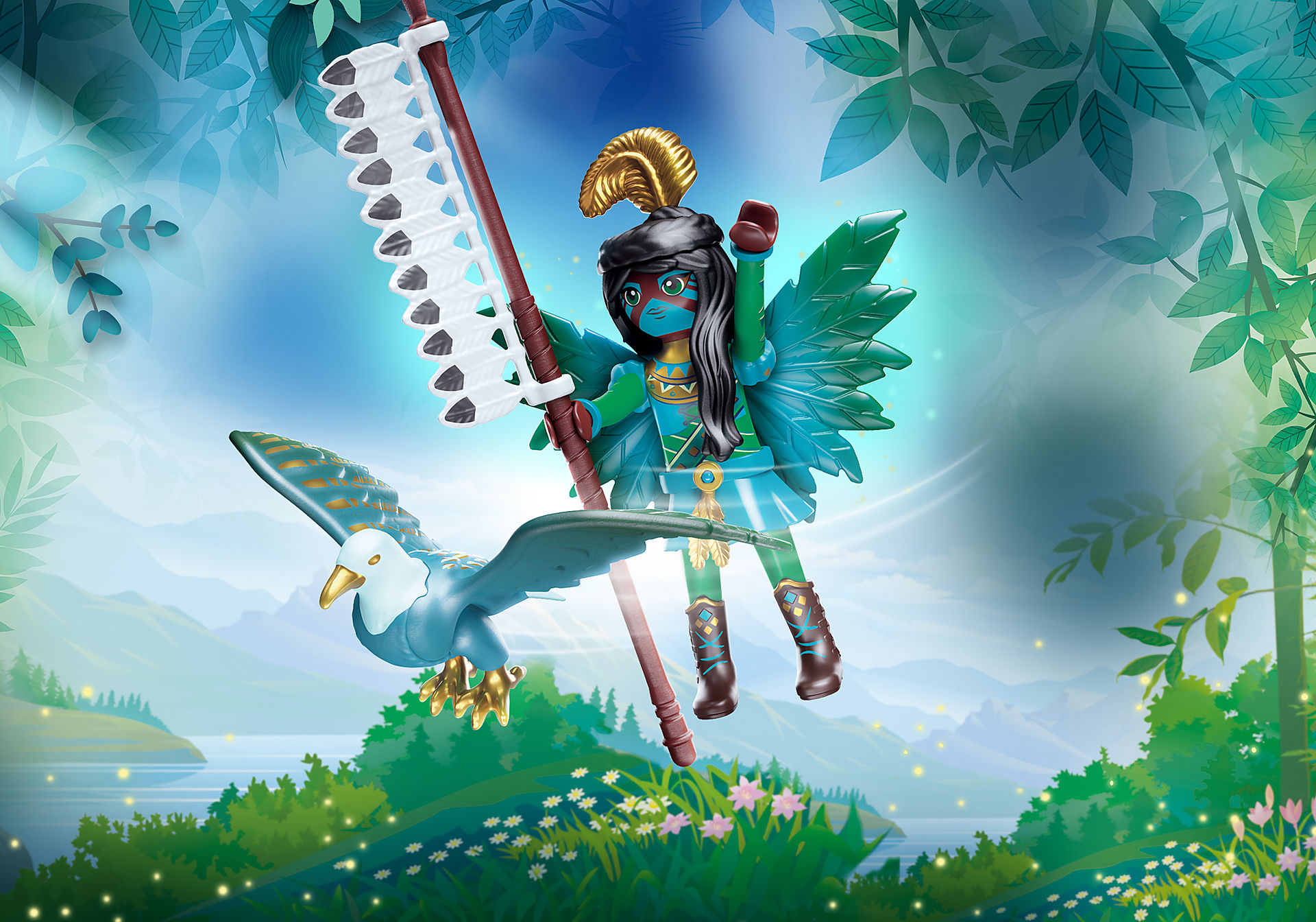 70802 Knight Fairy com animal de alma zoom image1