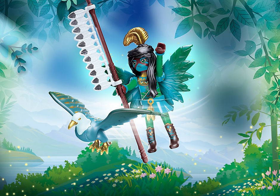 70802 Knight Fairy e il suo compagno animale detail image 1