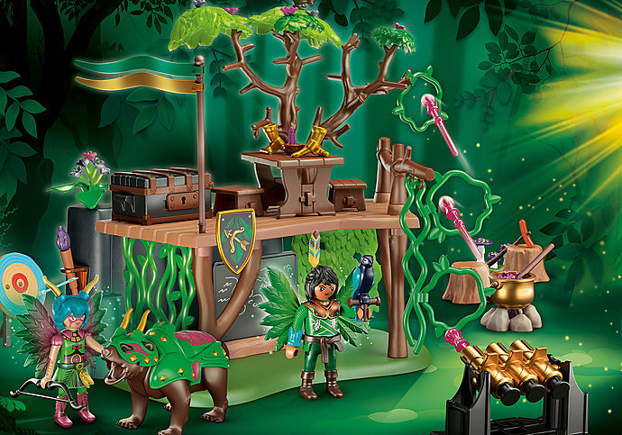 70805 Forest Fairy - Erdei tündér lélekállattal