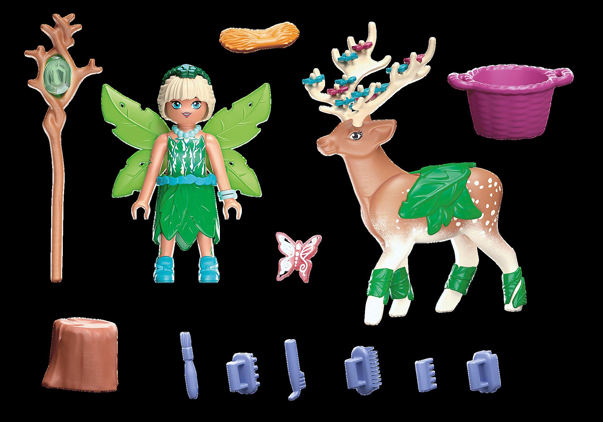 70806 Forest Fairy avec animal préféré zoom image4