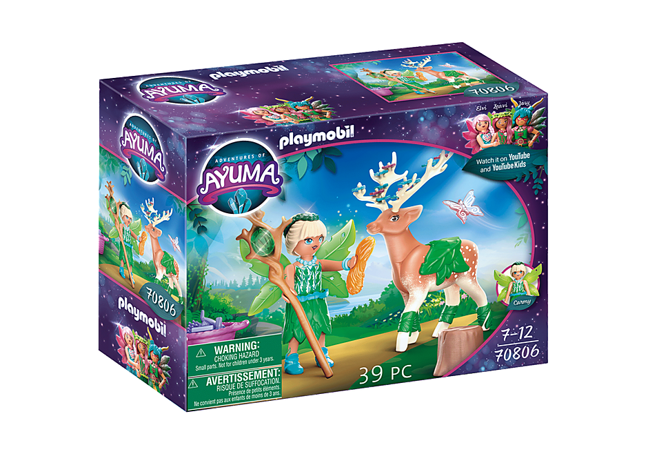 70806 Forest Fairy com animal de alma detail image 3