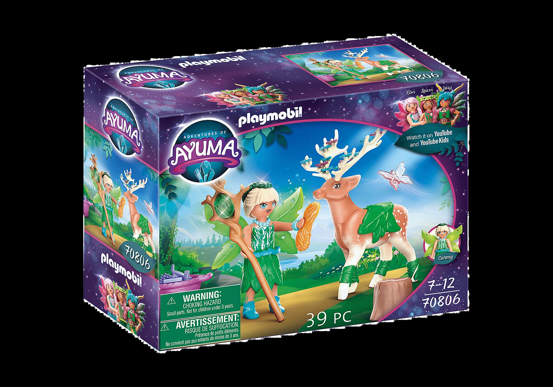 70806 Forest Fairy com animal de alma zoom image3