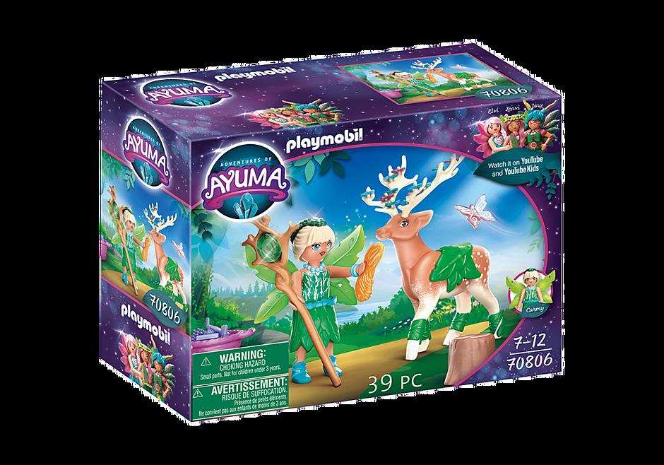 70806 Forest Fairy e il suo compagno animale detail image 3