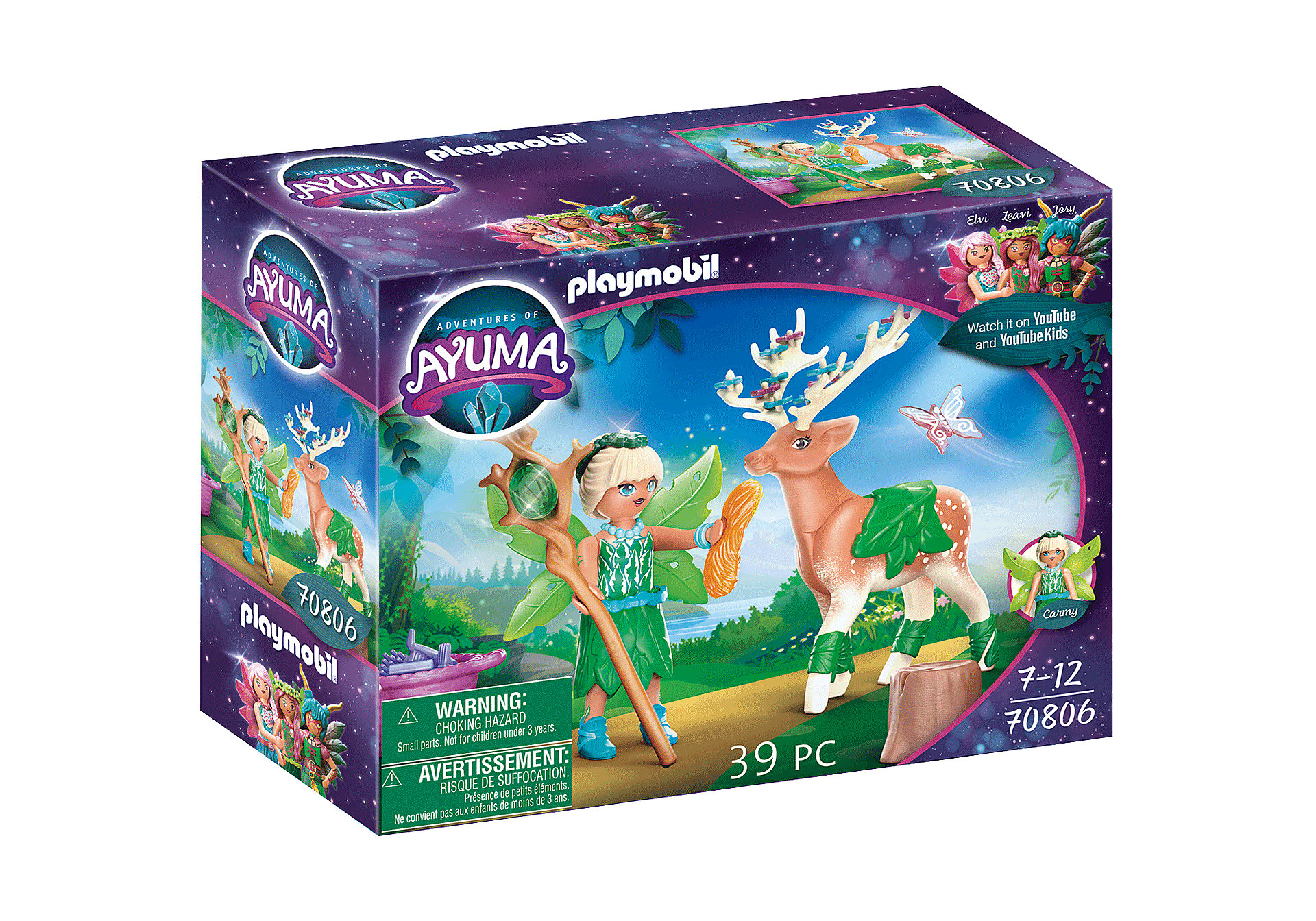 70806 Forest Fairy with Soul Animal zoom image3
