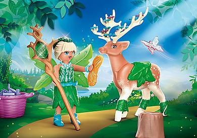 70806 Forest Fairy e il suo compagno animale