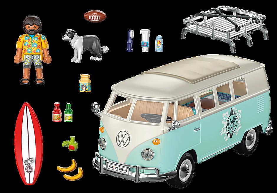70826 Volkswagen T1 Camping Bus - Edición especial detail image 4