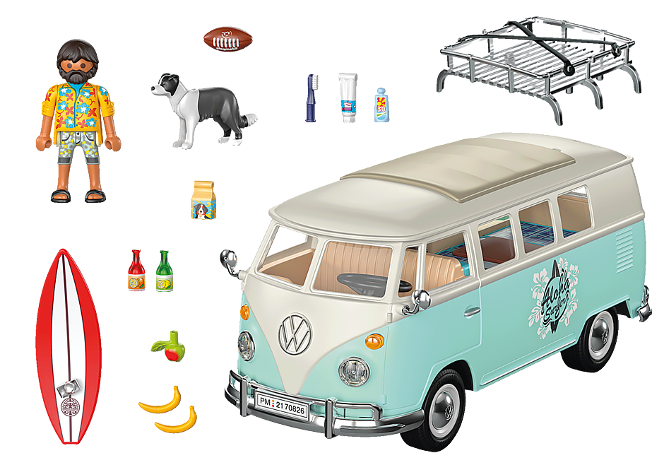 70826 Volkswagen T1 Camping Bus - Special Edition detail image 4
