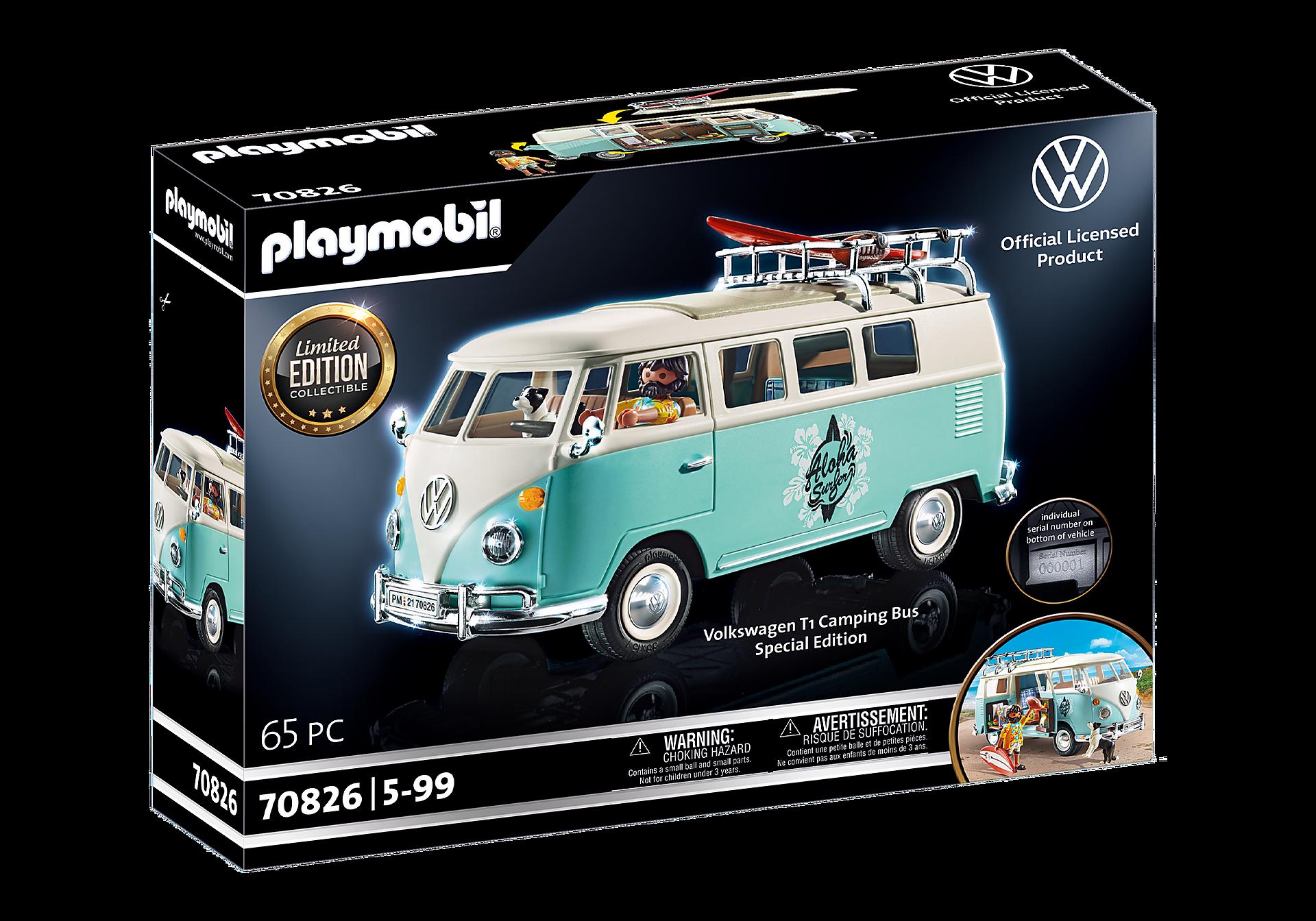 70826 Volkswagen T1 Camping Bus - Edição especial zoom image3