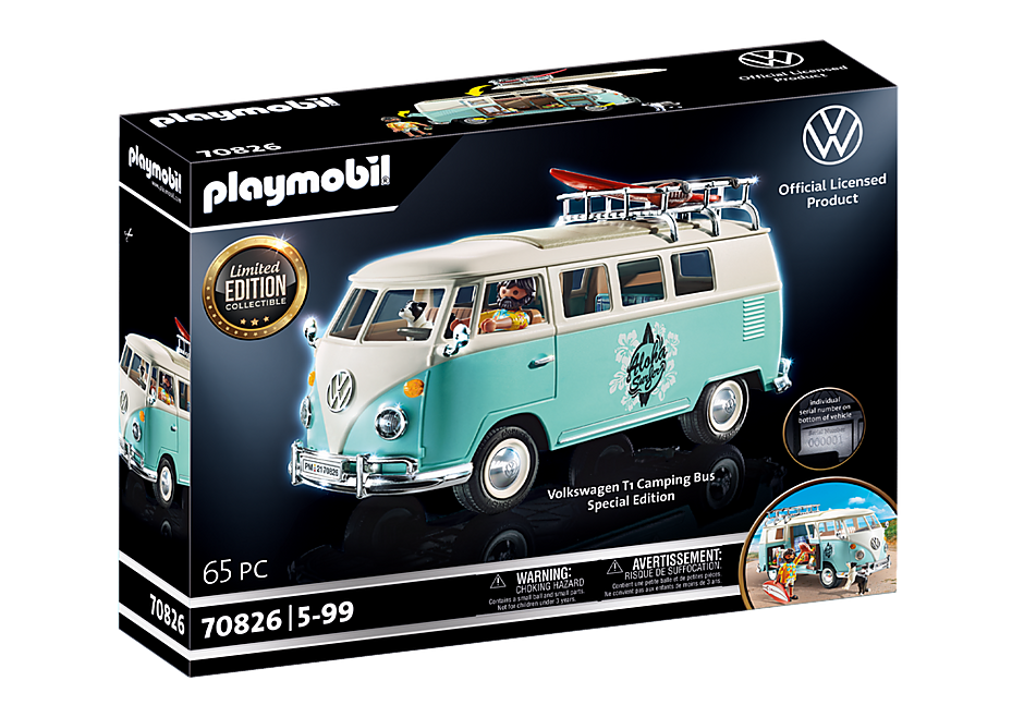 70826 Volkswagen T1 Campingbus - Special Edition detail image 3