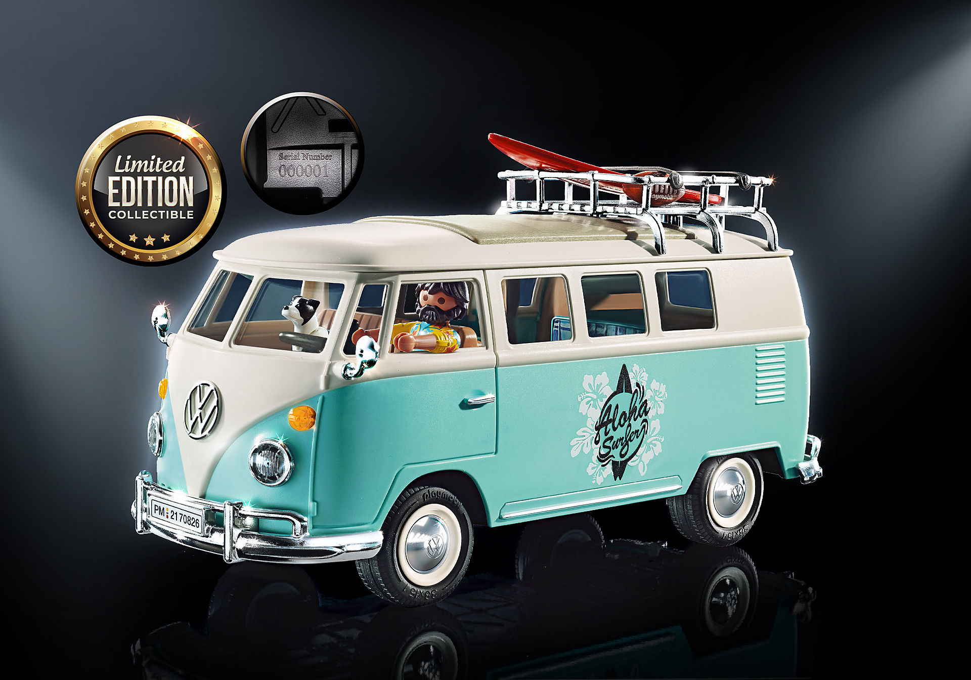 70826 Volkswagen T1 Folkabuss - Special Edition zoom image1