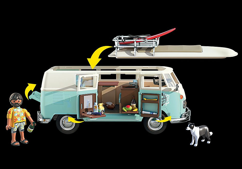 70826 Volkswagen T1 Camping Bus - Edycja specjalna detail image 5