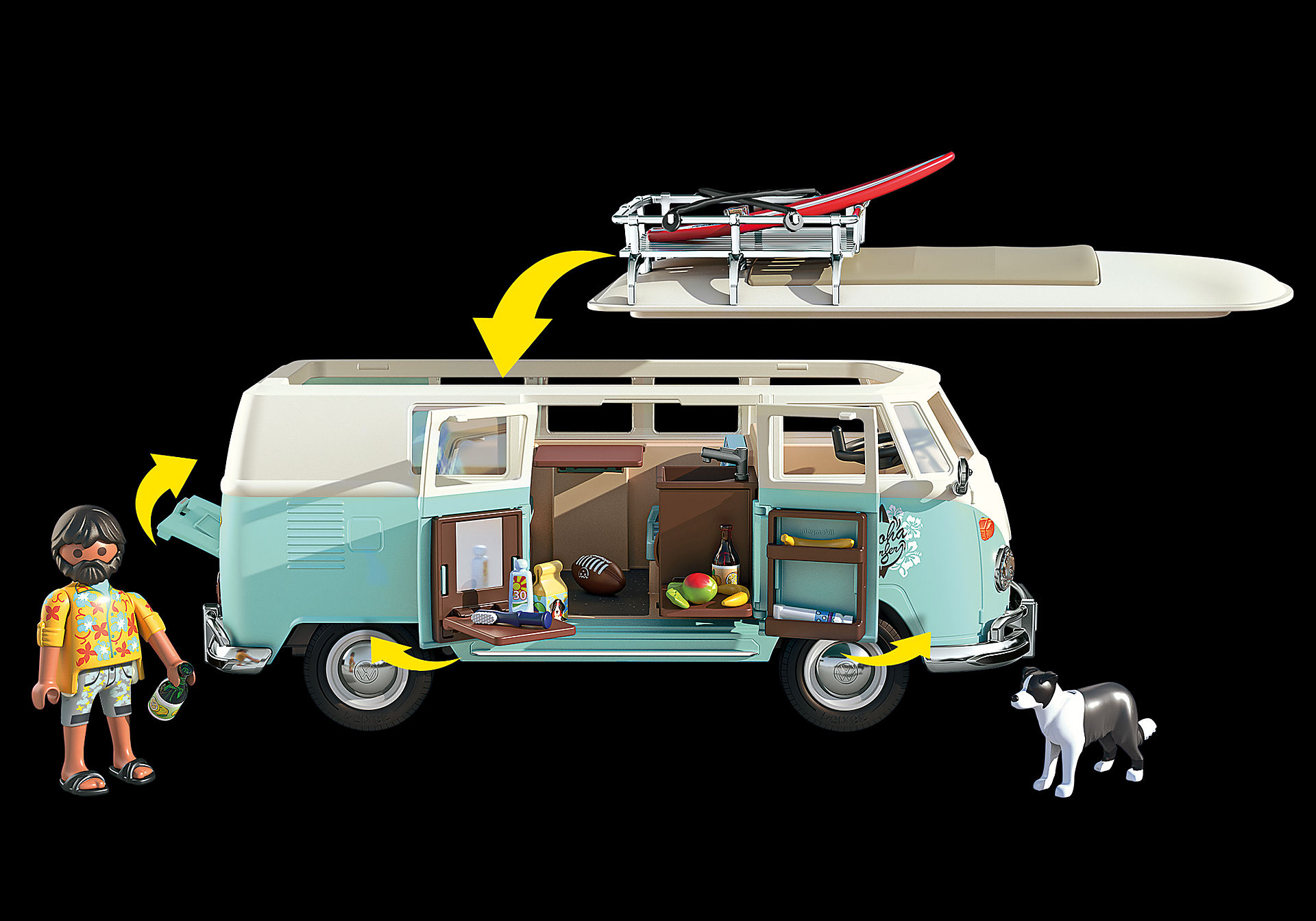 70826 Volkswagen T1 Camping Bus - Special Edition zoom image5