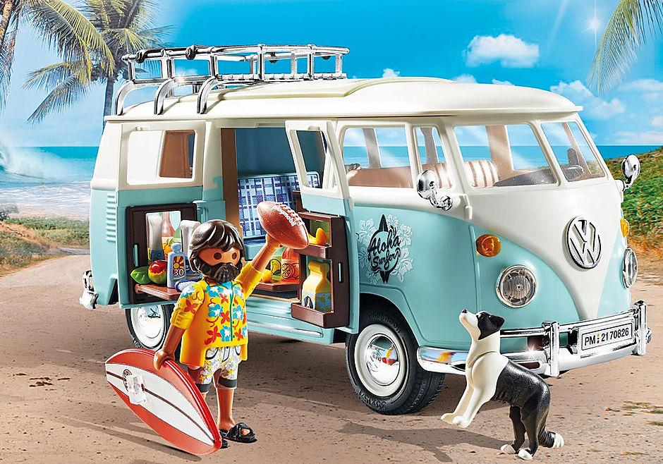 70826 Volkswagen T1 Camping Bus - Edición especial detail image 6