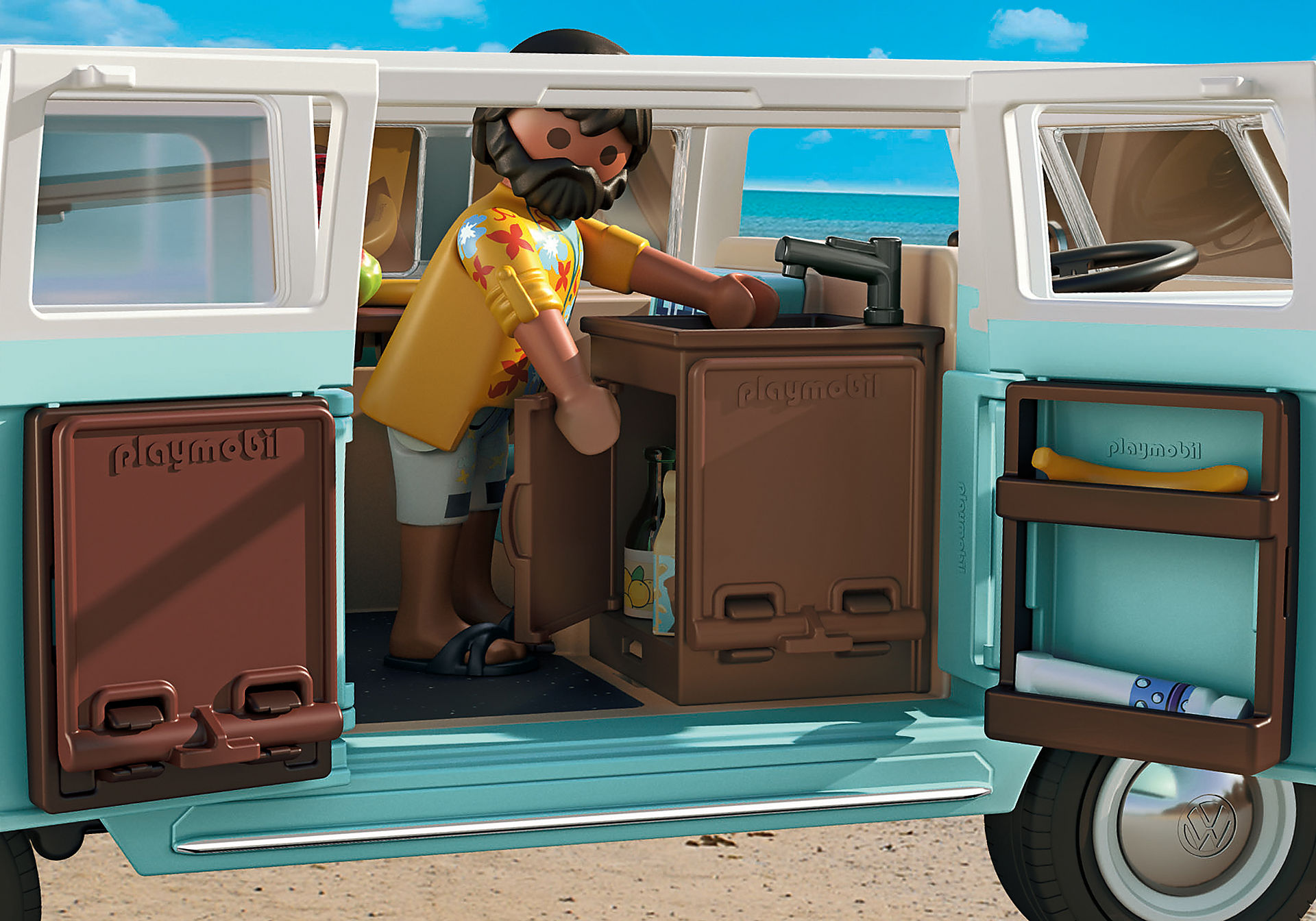 70826 Volkswagen T1 Camping Bus - Edição especial zoom image7