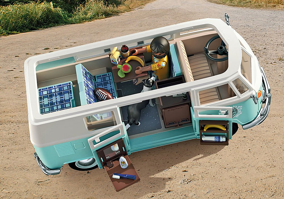 70826 Volkswagen T1 Camping Bus - Special Edition detail image 8