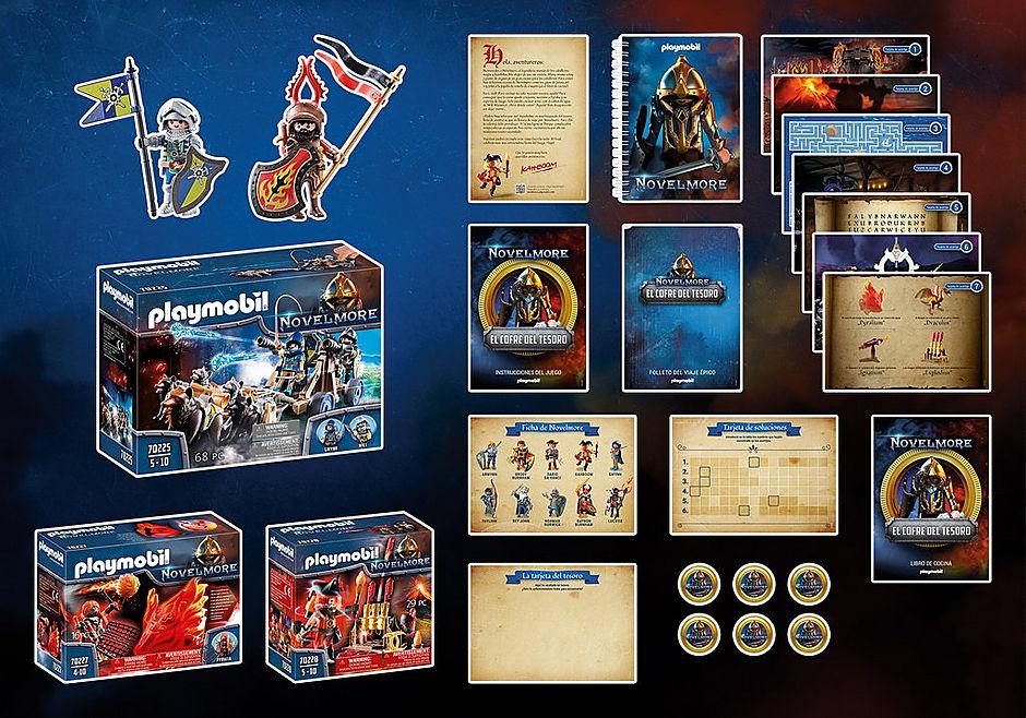 70845 PLAYMOBIL®Box: El Cofre del tesoro de NOVELMORE El evento familiar detail image 3