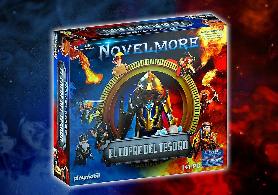 70845 PLAYMOBIL®Box: El Cofre del tesoro de NOVELMORE El evento familiar detail image 1