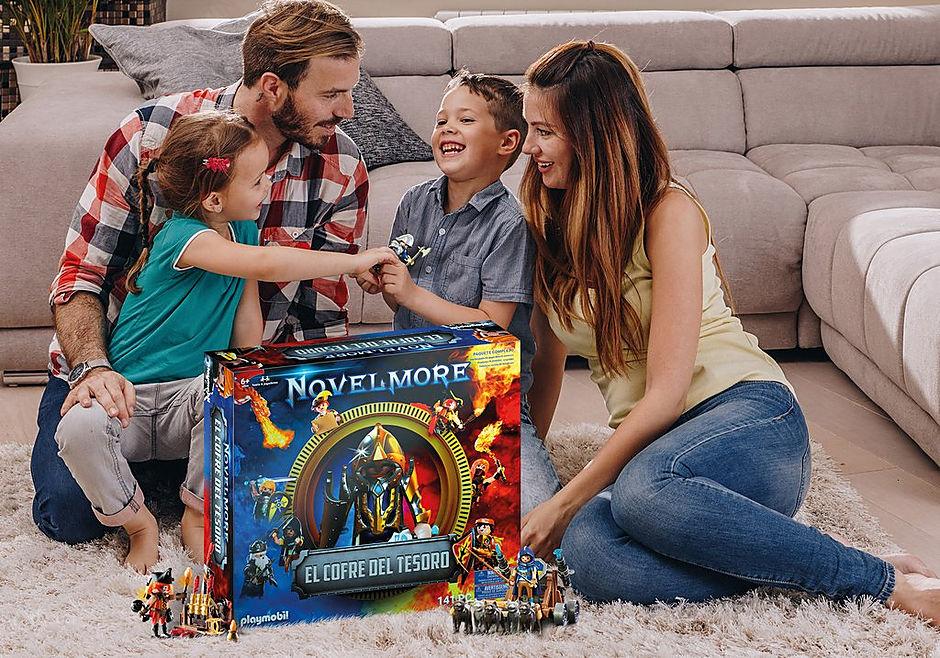 70845 PLAYMOBIL®Box: El Cofre del tesoro de NOVELMORE El evento familiar detail image 4