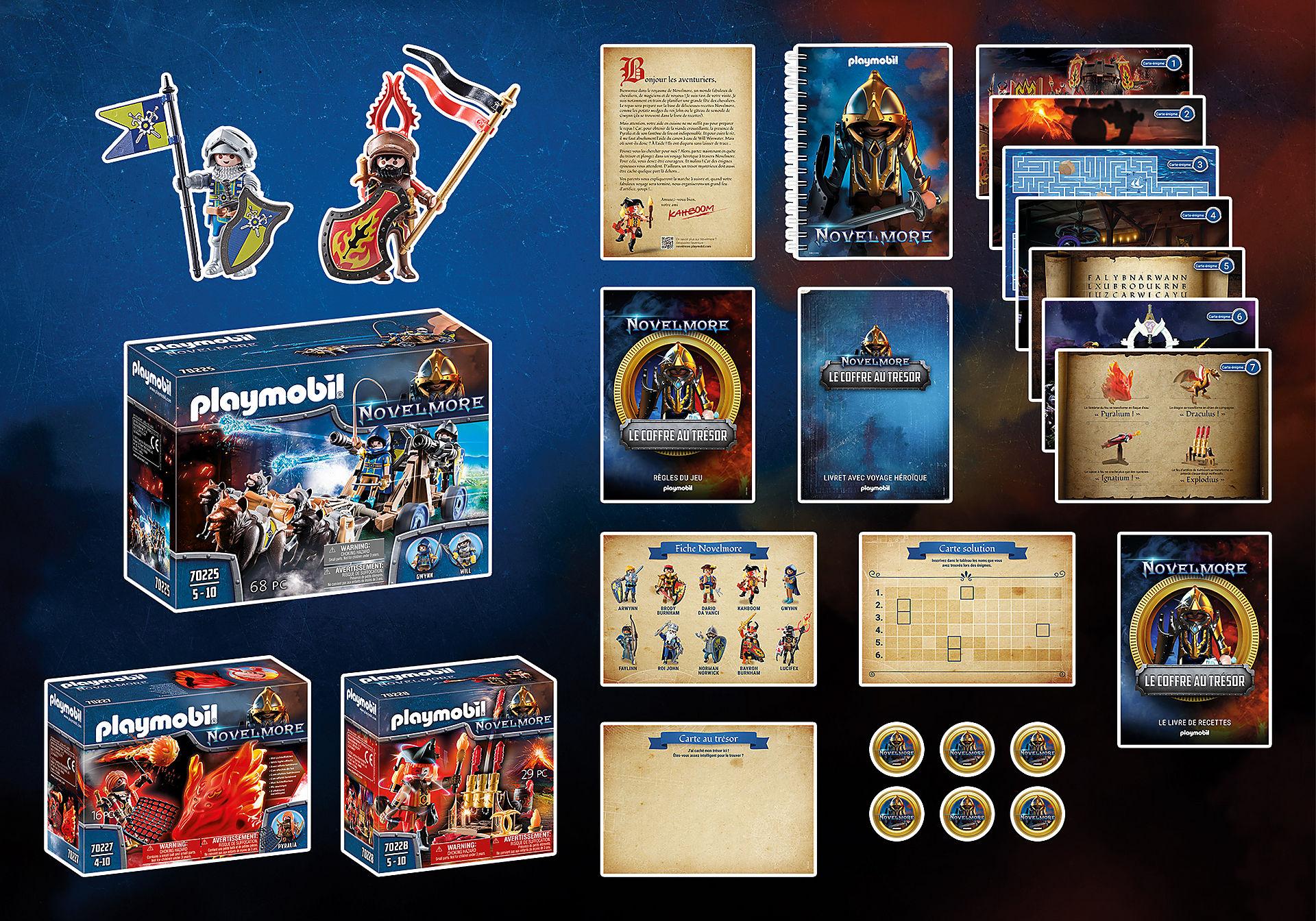 70846 Box PLAYMOBIL®: Le coffre au trésor NOVELMORE L'événement familial zoom image2