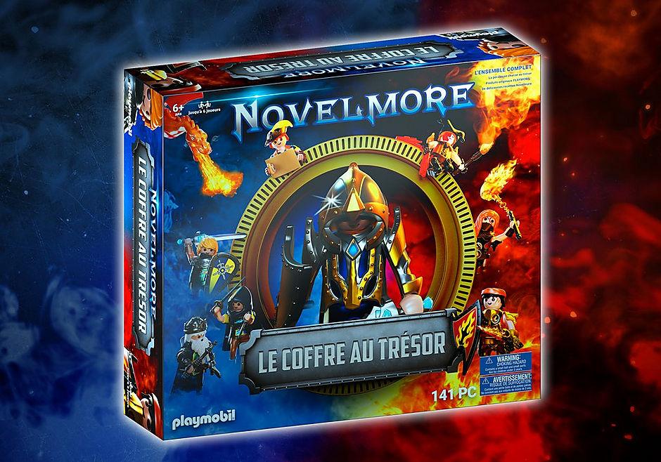 70846 Box PLAYMOBIL®: Le coffre au trésor NOVELMORE L'événement familial detail image 1