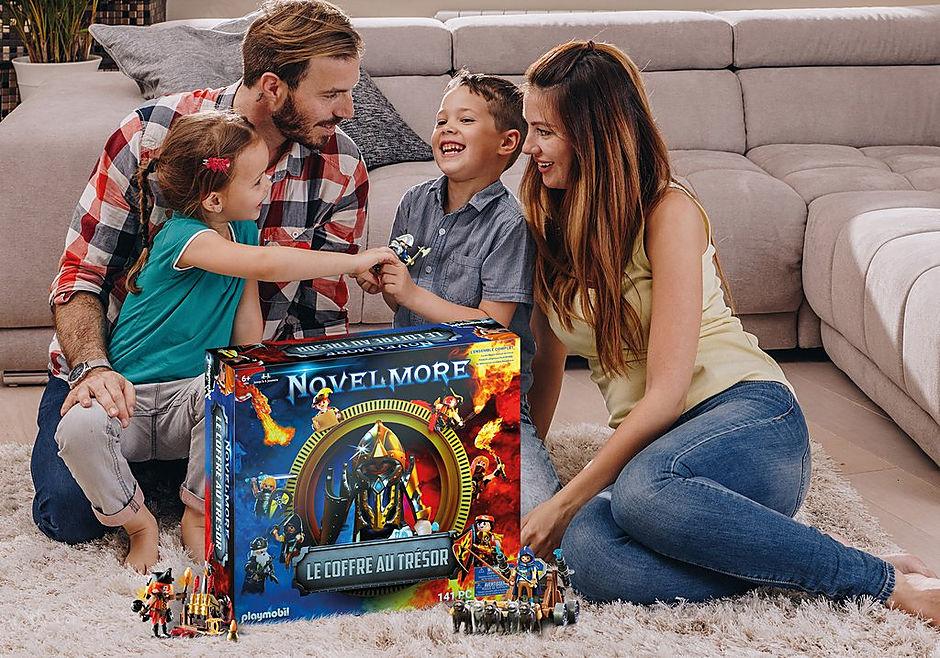 70846 Box PLAYMOBIL®: Le coffre au trésor NOVELMORE L'événement familial detail image 4