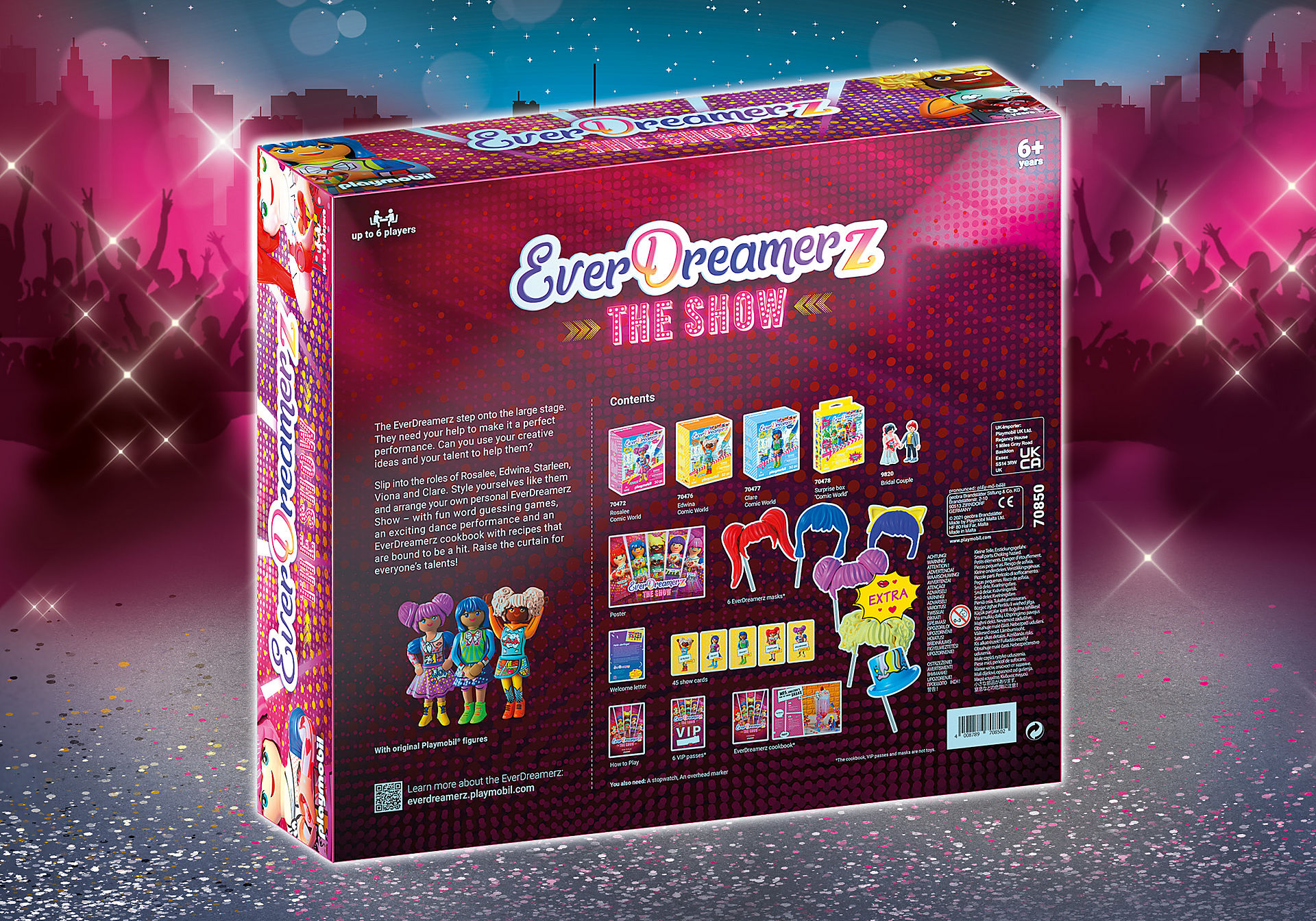 70850 PLAYMOBIL®Box. EVERDREAMERZ The Show: The big game event for the whole family zoom image2