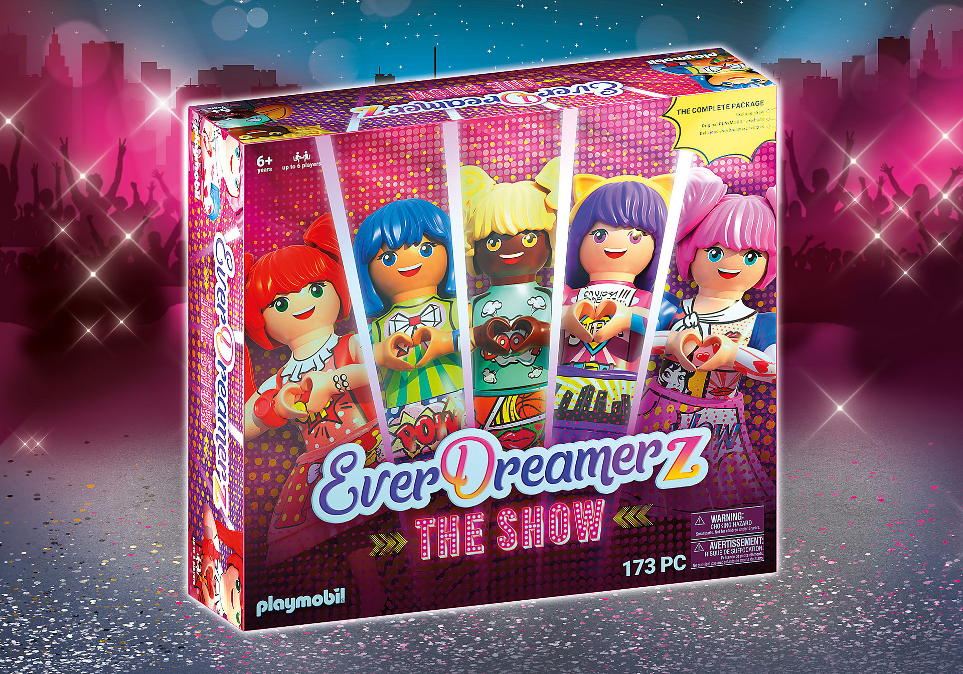 70850 PLAYMOBIL®Box. EVERDREAMERZ The Show: The big game event for the whole family zoom image1
