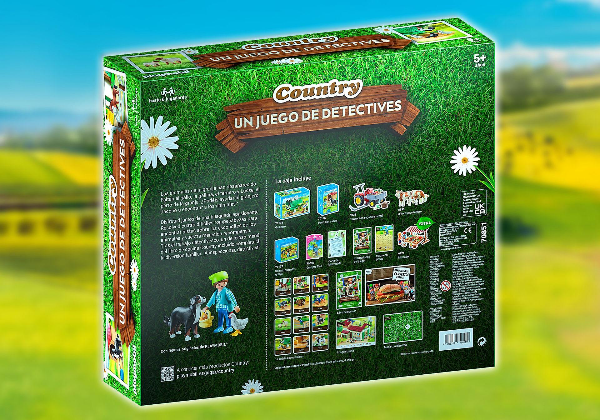 70851 PLAYMOBIL®Box: COUNTRY EL juego de detectives zoom image2