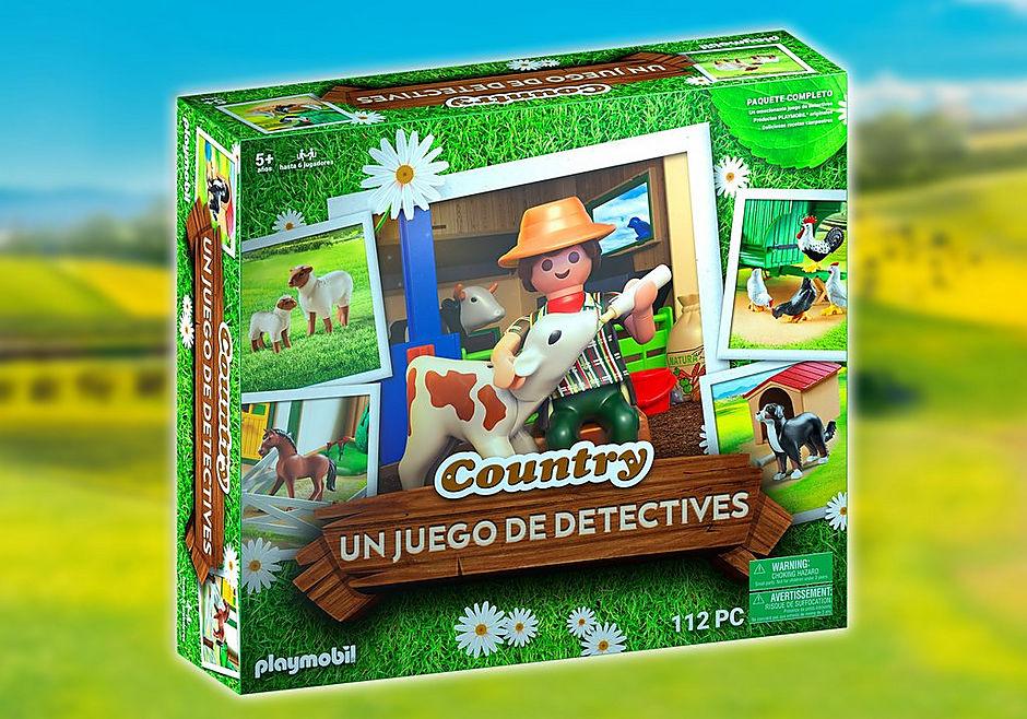 70851 PLAYMOBIL®Box: COUNTRY EL juego de detectives detail image 1
